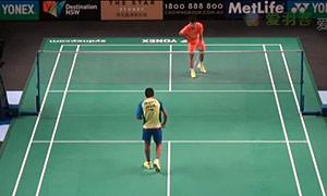 田厚威VS斯里坎特 2015澳洲公开赛 男单1/8决赛视频