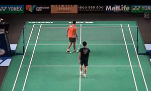 波萨那VS上田拓马 2015澳洲公开赛 男单1/8决赛视频