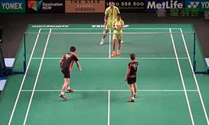 徐晨/马晋VS申白喆/蔡侑玎 2015澳洲公开赛 混双1/8决赛视频