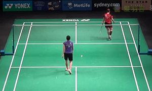 裴延姝VS李文珊 2015澳洲公开赛 女单1/4决赛视频