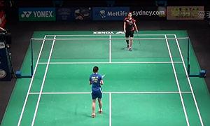 王适娴VS裴延姝 2015澳洲公开赛 女单半决赛视频