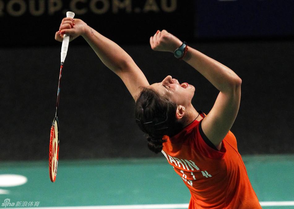 马琳VS王适娴 2015澳洲公开赛 女单决赛视频