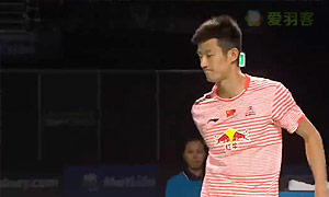 谌龙VS阿萨尔森 2015澳洲公开赛 男单决赛视频