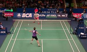茨维布勒VS埃文斯 2015印尼公开赛 男单1/16决赛视频