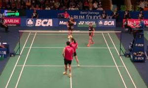 基多/皮娅VS高成炫/金荷娜 2015印尼公开赛 混双1/16决赛视频