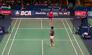 法内特里VS李文珊 2015印尼公开赛 女单1/16决赛视频