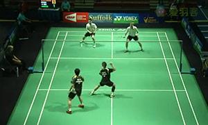M·埃利斯/兰格瑞奇VS陈润龙/李晋熙 2015美国公开赛 男双1/8决赛视频