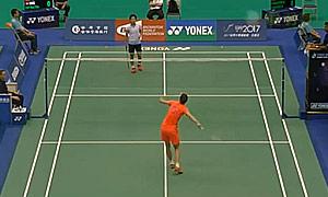 孙瑜VS叶姵延 2015台北公开赛 女单1/16决赛视频