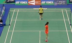 李雪芮VS奥原希望 2015台北公开赛 女单1/4决赛视频