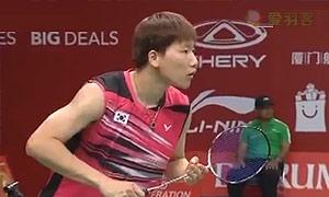 阮天明VS李东根 2015羽毛球世锦赛 男单资格赛视频