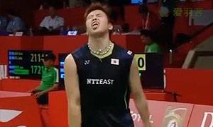 罗加尔斯基VS田儿贤一 2015羽毛球世锦赛 男单资格赛视频