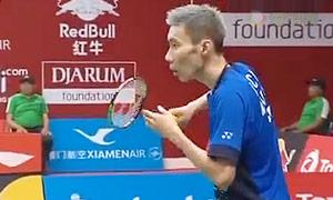 李宗伟VS纳维茨卡斯 2015羽毛球世锦赛 男单资格赛视频