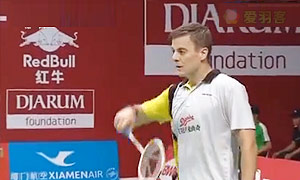 维汀哈斯VS基兰 2015羽毛球世锦赛 男单资格赛视频