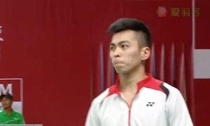 斯里坎特VS法里曼 2015羽毛球世锦赛 男单资格赛视频