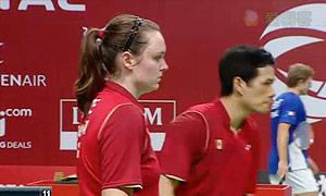 科丁/尤尔VS吴骏义/布鲁斯 2015羽毛球世锦赛 混双1/16决赛视频