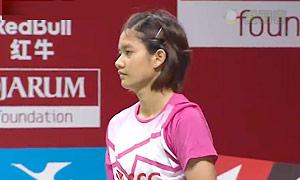 蓬迪VS奥原希望 2015羽毛球世锦赛 女单资格赛视频