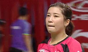 裴延姝VS泽奇里 2015羽毛球世锦赛 女单1/16决赛视频