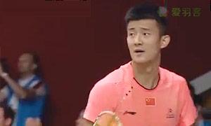 谌龙VS坦农萨克 2015羽毛球世锦赛 男单1/8决赛视频