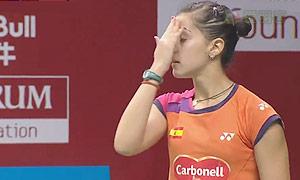 马琳VS白驭珀 2015羽毛球世锦赛 女单1/8决赛视频
