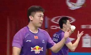 刘小龙/邱子瀚VS吴蔚昇/陈蔚强 2015羽毛球世锦赛 男双1/8决赛视频