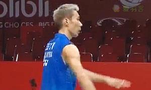 李宗伟VS胡赟 2015羽毛球世锦赛 男单1/4决赛视频