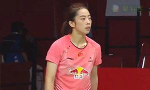 马琳VS王适娴 2015羽毛球世锦赛 女单1/4决赛视频