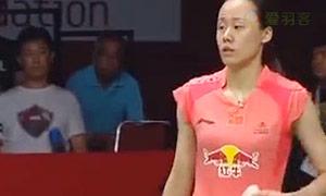 张楠/赵芸蕾VS艾哈迈德/纳西尔 2015羽毛球世锦赛 混双半决赛视频
