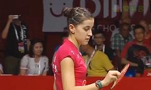 马琳VS内维尔 2015羽毛球世锦赛 女单决赛视频