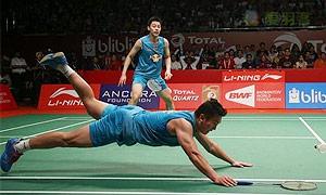 阿山/塞蒂亚万VS刘小龙/邱子瀚 2015羽毛球世锦赛 男双决赛视频