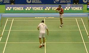 周天成VS狄奥尼修斯 2015日本公开赛 男单1/8决赛视频