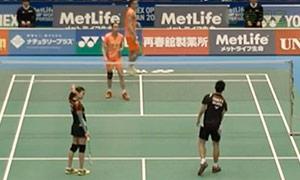 张楠/赵芸蕾VS陈炳顺/吴柳萤 2015日本公开赛 混双1/8决赛视频