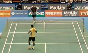 林丹VS李宗伟 2015日本公开赛 男单1/8决赛视频