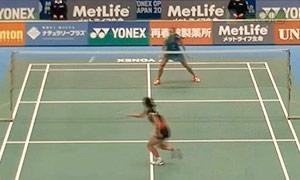 奥原希望VS因达农 2015日本公开赛 女单1/8决赛视频