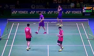 张楠/傅海峰VS阿山/塞蒂亚万 2015日本公开赛 男双1/4决赛视频