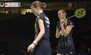 佩蒂森/尤尔VS尼蒂娅/波莉 2015日本公开赛 女双1/4决赛视频
