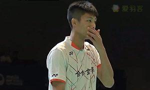 周天成VS卡什亚普 2015日本公开赛 男单1/4决赛视频