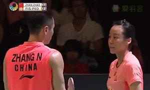 尼尔森/佩蒂森VS张楠/赵芸蕾 2015日本公开赛 混双决赛视频