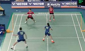 维迪安托/蒂莉VS王懿律/骆羽 2015韩国公开赛 混双1/16决赛视频