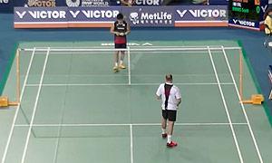 佐佐木翔VS埃文斯 2015韩国公开赛 男单1/16决赛视频