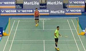 林丹VS武下利一 2015韩国公开赛 男单1/16决赛视频