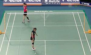 裴延姝VS今別府香里 2015韩国公开赛 女单1/16决赛视频