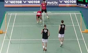 鲍伊/摩根森VS瓦赫尤那亚卡/尤苏夫 2015韩国公开赛 男双1/8决赛视频