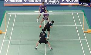 苏吉特/莎拉丽VS徐晨/马晋 2015韩国公开赛 混双1/8决赛视频