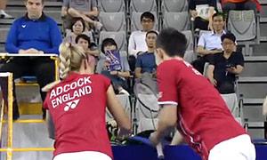 爱德考克/加布里VS苏吉特/莎拉丽 2015韩国公开赛 混双1/4决赛视频