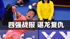 韩国赛1/4战报:谌龙进四强 王适娴胜李雪芮