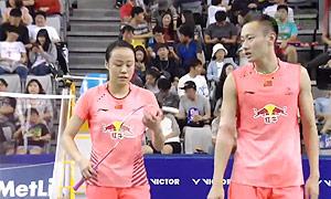 张楠/赵芸蕾VS高成炫/金荷娜 2015韩国公开赛 混双半决赛视频