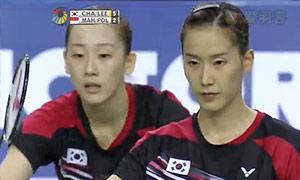 尼蒂娅/波莉VS张艺娜/李绍希 2015韩国公开赛 女双决赛视频