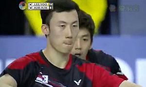 李龙大/柳延星VS金基正/金沙朗 2015韩国公开赛 男双决赛视频