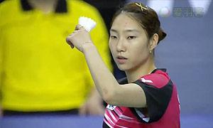 成池铉VS王仪涵 2015韩国公开赛 女单决赛视频