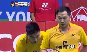 瓦赫尤那亚卡/尤苏夫VS古健杰/陈文宏 2015泰国公开赛 男双决赛视频